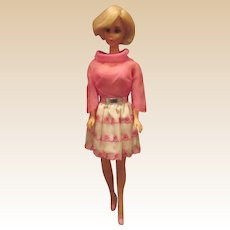 Gorgeous Vintage TNT Hair Fair Barbie #4043 Wearing Happy Go Pink #1868