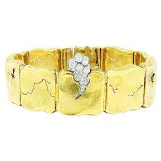 SeidenGang Diamond Odyssey Bracelet YBR18 18K Gold & Platinum .39ctw