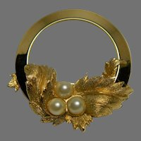 "Sarah Coventry ""Endearing"" Brooch"