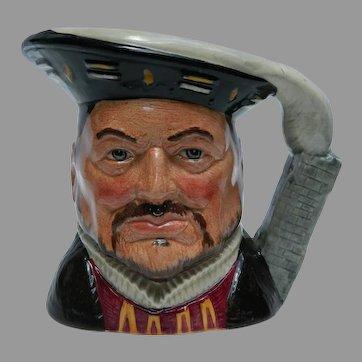 Royal Doulton Henry VIII Limited Edition Toby Mug