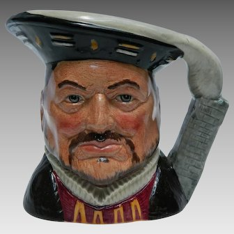 Royal Doulton Henry VIII Limited Edition Toby Mug