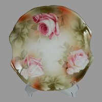 Gorgeous Vintage RS Prussia Serving Plate