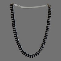 Vintage Lucite and Silvertone Choker Necklace