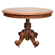 19th Century Louis Philippe Oval Table  Normandy France