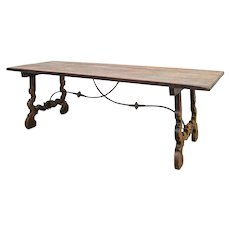 19th Century Spanish Farm Table