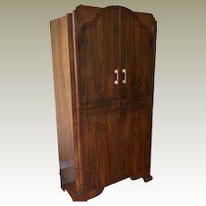 Vintage Deco Wardrobe Armoire