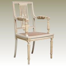 Vintage Cane Side Chair from Belgium Kasteel