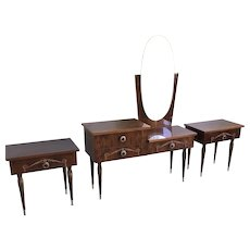 French Art Deco Vanity Set