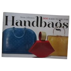 Handbags: 900 Bags to Die For Book