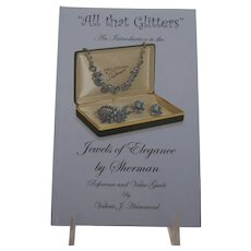 """All that Glitters"" An Introduction to the Jewels of Elegance by Sherman Jewellery Jewelry Book by Valerie J. Hammond"