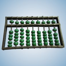 Vintage Miniature Abacus for Your Doll House