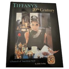 TIFFANY'S 20th Century A Portrait of American Style Jewelry & Accessories Book