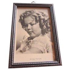 Shirley Temple 20th CENTURY FOX Studio Portrait in Period Frame, c. 1935