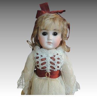 "12 1/2 ""  Early unmarked German Doll."