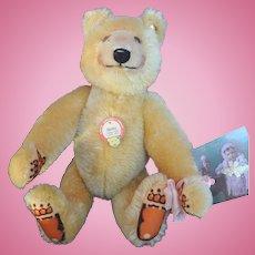 Steiff Bear from Steiff shop in Germany.