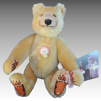 Steiff Bear from Steiff shop in Germany.