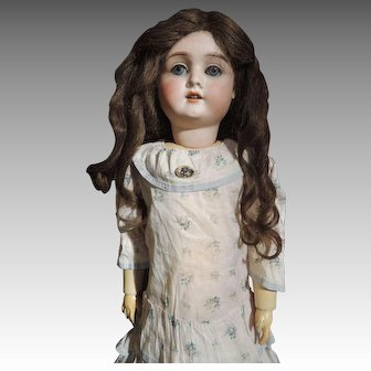 "24"" Incised German Family Doll."