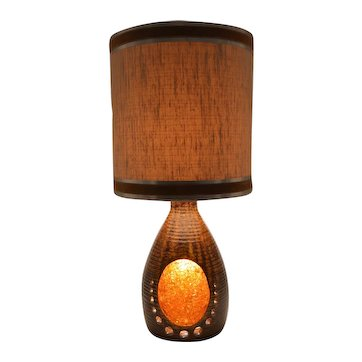 ACCOLAY Large French Midcentury Table Lamp, 1960s