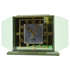 JAZ French Art Deco Clock 1930