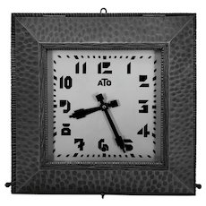 ATO French Art Deco Wall Clock, ca.1930