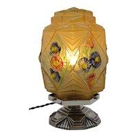 Verlys / Des Hanots French Art Deco Table Lamp, ca.1925