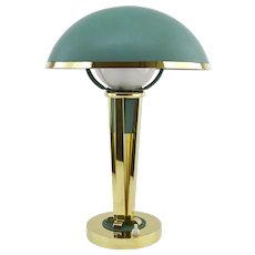 Jacques ADNET French Art Deco Desk / Table Lamp, Ca.1940