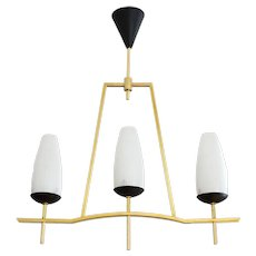 LUNEL French Mid-century Chandelier, 1950s