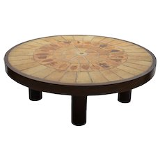 Roger CAPRON Low Coffee Table 1960s