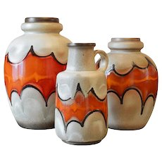 Large Ceramic Batman Vase, Germany, Late 1960s, possibly lamp