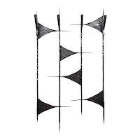 French Mid-century Wrought-iron Coat-rack, 1960s