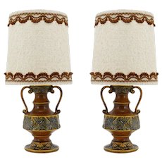 Mid-century Pair of Table Lamps, Germany, Early 1970s