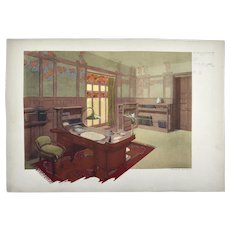 Maurice DUFRENE Study, 3 Lithographs, 1906
