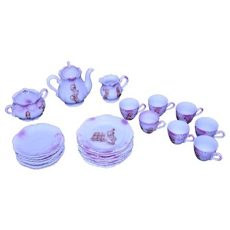 Kewpie Rose O'Neill Children's Tea Set