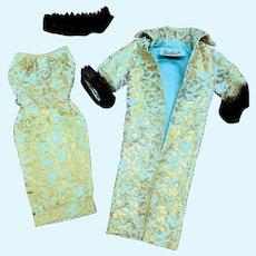 Barbie Tagged 961 Evening Splendor Dress Coat