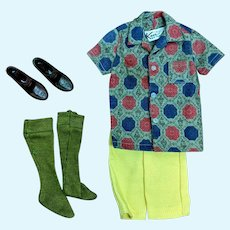 Barbie Ken 783 Sport Shorts Outfit