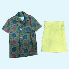 Ken Mattel Tagged #783 Sports Shorts Outfit Shirt And Pants