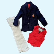 Ken 1960s 1411 Victory Dance Coat Vest Pants T.M Tag