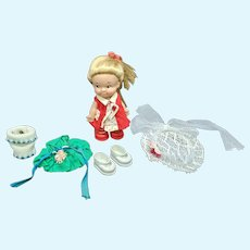 Uneeda Blond PeeWee Doll 1965 Outfits