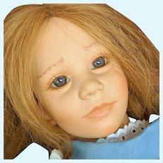 "22"" Toni Vinyl Himstedt American Heartland Puppen Kinde Doll"