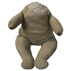 Christmas Sale Antique Cloth Frog Body for Bye lo Bye-lo Baby