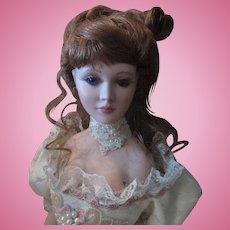 """Christmas Sale 20"""" OOAK Porcelain Artist Doll Gibson Girl"""
