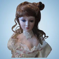 "Christmas Sale 20"" OOAK Porcelain Artist Doll Gibson Girl"