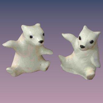 Christmas Sale PR China or Glass Animal Polar Bear