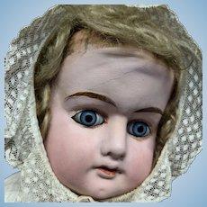 """36"""" Large Papier Mache Patent Washable Holz Masses Doll"""