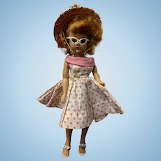 "10"" Jill Vogue Doll Pink Summer Outfit Sunglasses Hat"