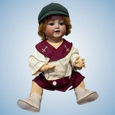 "24"" Antique Kammer Reinhardt Toddler Boy Doll KR"