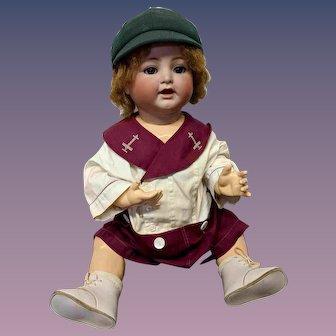 "24"" Antique Kammer Reinhardt Toddler Boy Doll KR"