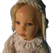 Gorgeous Elissa Glassgold Doll Artist Wax Resin Baby Grace