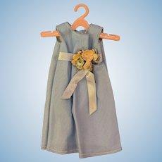 "10"" Jill Vogue Fashion Doll Hand Made periwinkle Blue Sleeveless Dress"