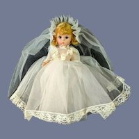 "Vintage Madame 8"" Alexander Alexanderkin Bride Doll"